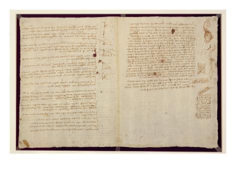 U0026 39 Scientific Diagrams  From The  U0026 39 Codex Leicester U0026 39   1508