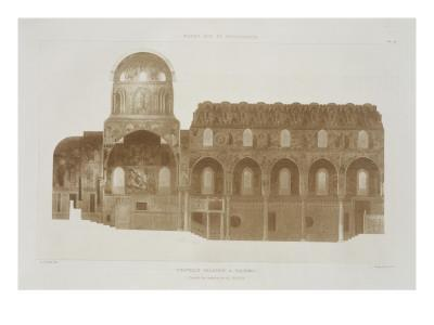 Cross-Section of the Palatine Chapel, Palermo, Sicily