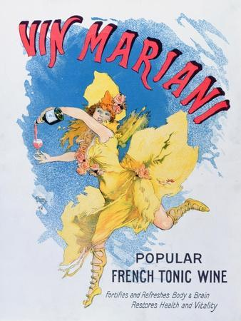 Advertisement for 'Vin Mariani' from 'Theatre' Magazine, 1901