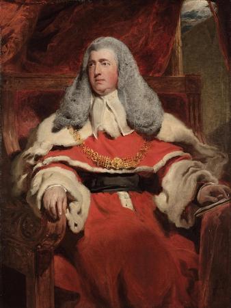Portrait of Edward Law, 1st Baron Ellenborough, M.P.