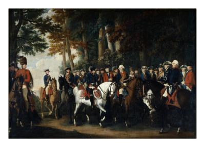 King Frederick Ii's Return from Preussen Von Manoever, C.1785