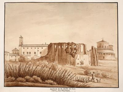 Hippodrome of the Family of Constantine, Via Nomentana, 1833