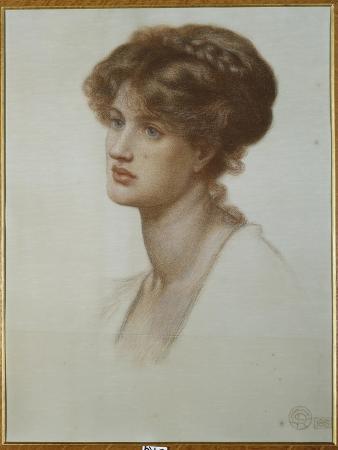 Portrait of Mrs. William J. Stillman, Bust Length, 1869