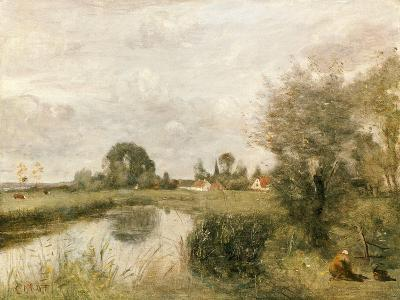 View of Arleux from the Marshes of Palluel, 1873