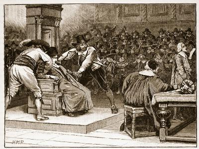 Scene in the House of Commons: the Speaker Coerced