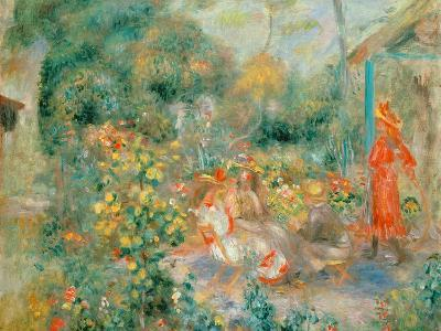 Young Girls in the Garden at Montmartre, 1893-95