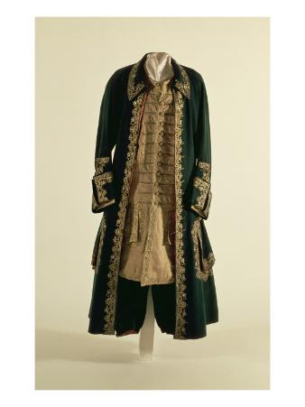 Ceremonial Attire of Peter I, Berlin, 1710-20
