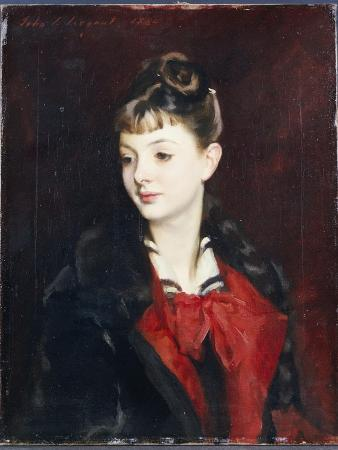 Portrait of Mademoiselle Suzanne Poirson, 1884