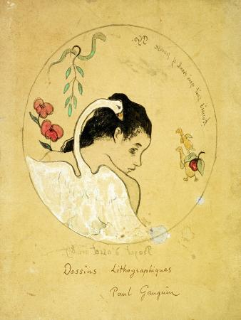 Design for a Plate - Leda and the Swan, 1889