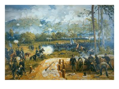 The Battle of Kenesaw Mountain, 27th June 1864