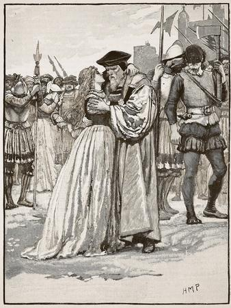 The Parting of Sir Thomas More and His Daughter