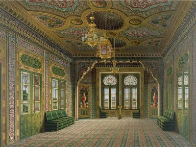 Design for a Reception Room with Chinese Pots, 1837