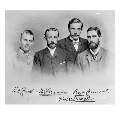 Roger Casement, Herbert Ward, E.J Glave and Friend