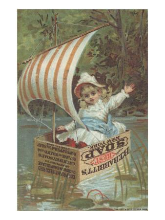 Advertisement for Babbitt's Best Soap, C.1880