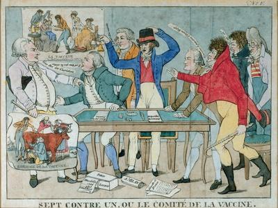 Seven Against One, or the Vaccine Committee, C.1800