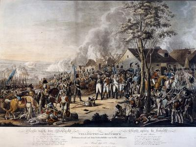 Scene after the Battle of Waterloo, 18th June 1815
