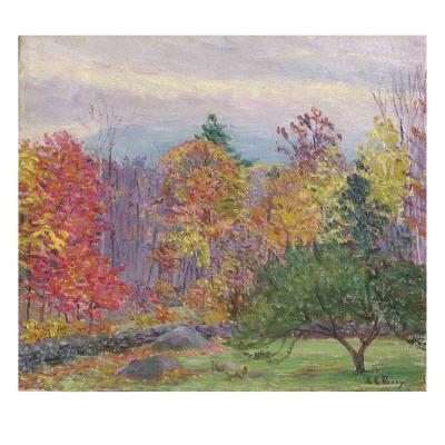 Landscape at Hancock, New Hampshire, October 1923