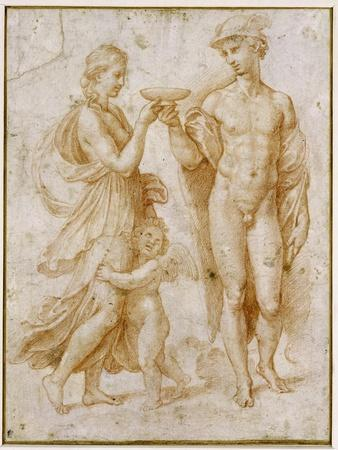 Mercury Offering the Cup of Immortality to Psyche