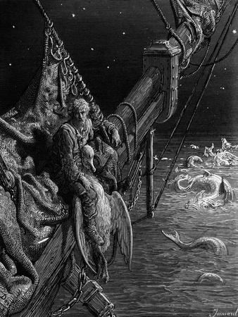 The Mariner Gazes on the Serpents in the Ocean