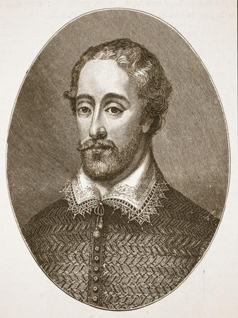 Edmund Spenser, from an Engraving by G. Vertue