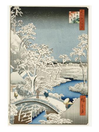 Drum Bridge and 'setting Sun' Hill, Meguro