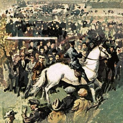 White Horse at the 1923 Cup Final at Wembley