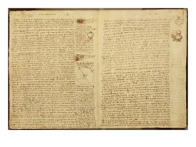 A Page from the Codex Leicester, 1508-12