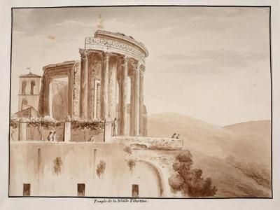 The Temple of the Tiburtine Sibyl, 1833