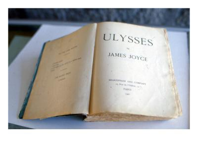 Frontispiece of 'Ulysses' by James Joyce