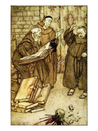 Illustration of 'The Jackdaw of Rheims'