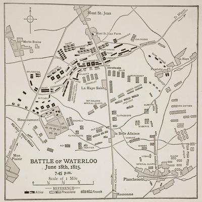 The Battle of Waterloo, June 18Th, 1815