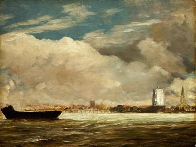 On the Thames Near Battersea Bridge, C.1816