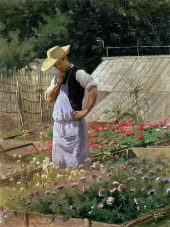 A Corner of the Rose Garden at Bagatelle