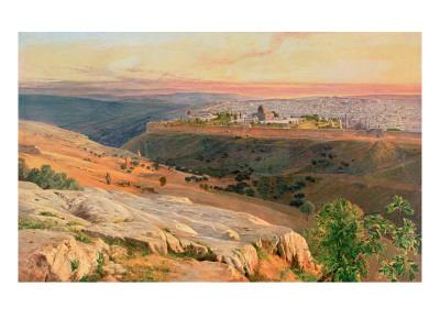 Jerusalem from the Mount of Olives, 1859