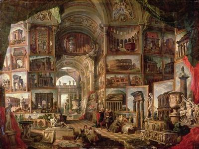 Interior of an Imaginary Picture Gallery
