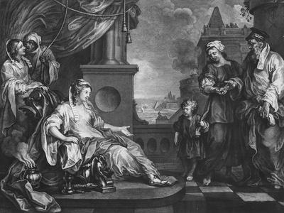 Moses Brought to Pharoah's Daughter, C.1752