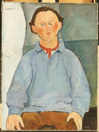 Portrait of Oscar Miestchanioff, C.1916