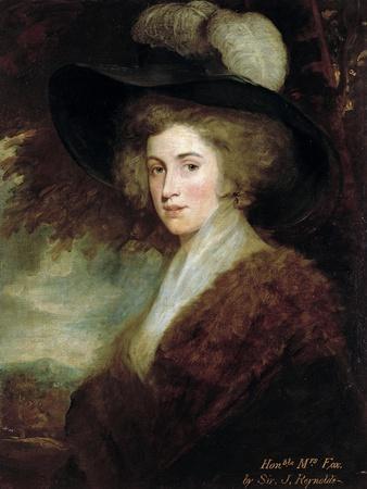 Portrait of Mrs. Charles James Fox, 1784-9