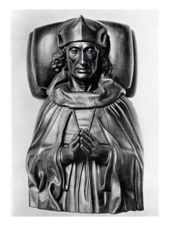 Effigy of Henry Vii in Westminster Abbey