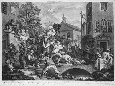 The Election, Chairing the Member, 1758