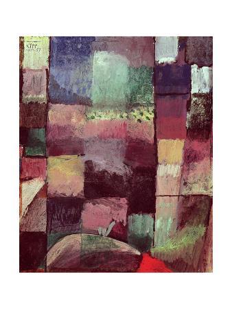 Composition: Motif from Hammamet, 1914