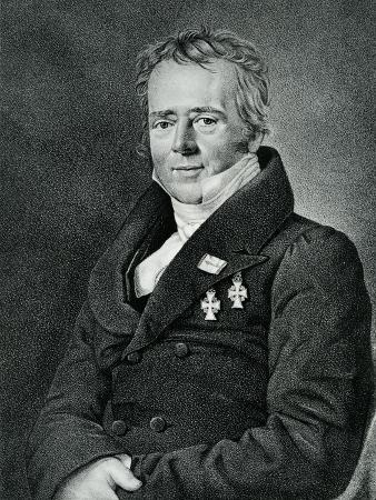 Hans Christian Orsted, Engraved by Kaufmann