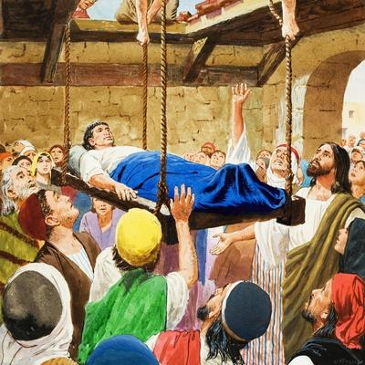 The Miracles of Jesus: Healing the Lame Man