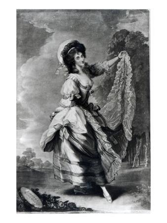 Giovanna Baccelli, Engraved by John Jones
