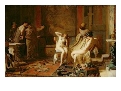 Female Slaves Presented to Octavian, 1883