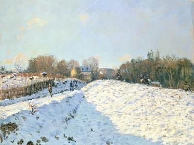 Effect of Snow at Argenteuil, 1874