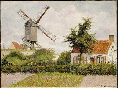 Windmill at Knokke, Belgium, 1894