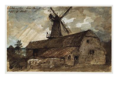 Blatchington Mill Near Brighton, 1825