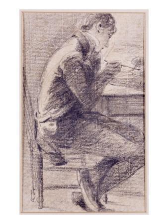 Portrait of an Artist Sketching, 1801