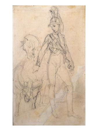 Study of a Dragoon and His Horse